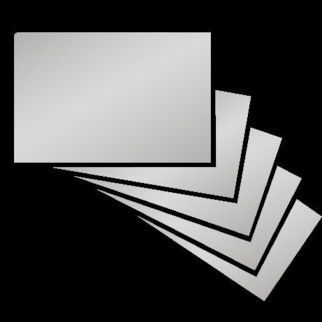 Visitenkarten | Chromeffekt | beidseitig